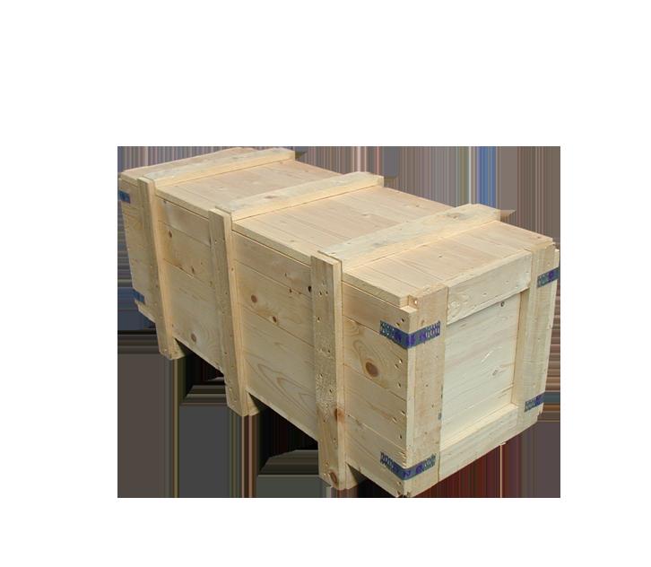 batten round timber case
